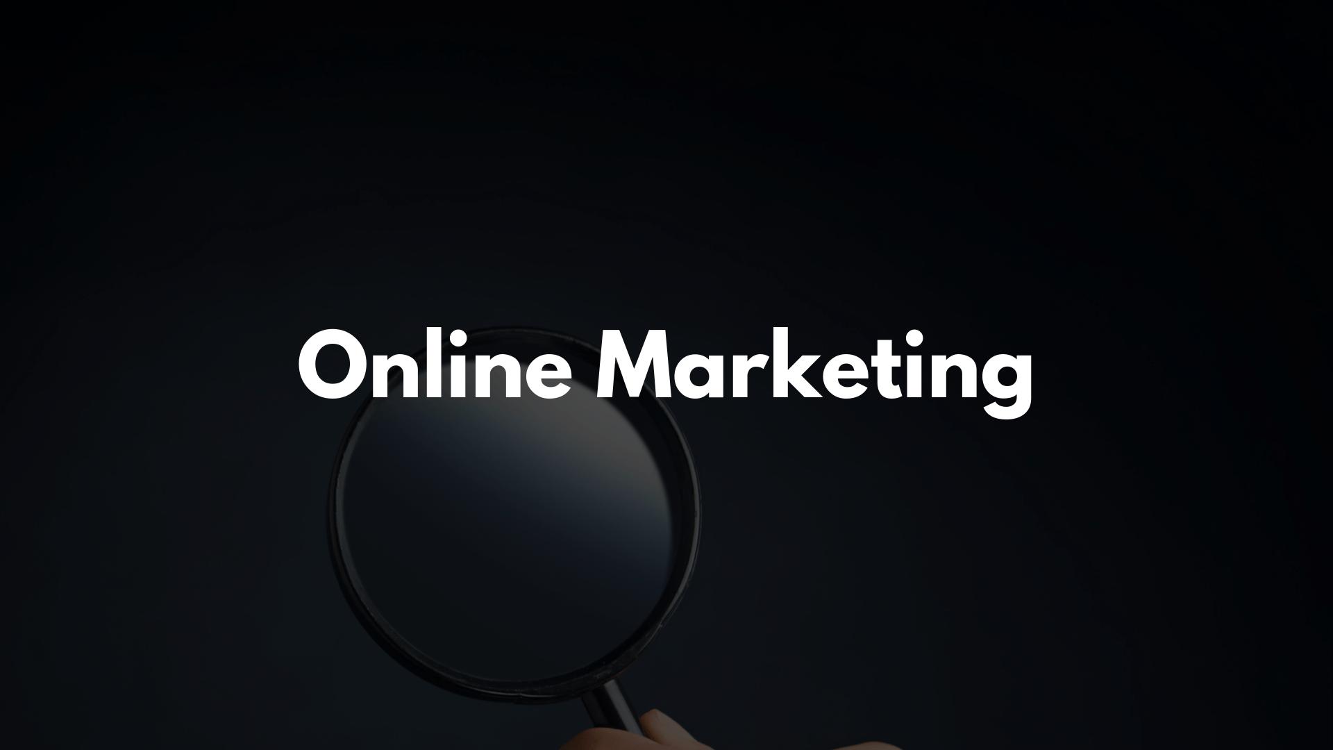 Online Marketing Optimierung Review Audit