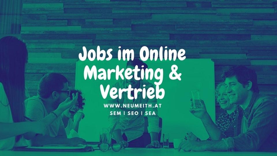 job online marketing graz stellenausschreibung